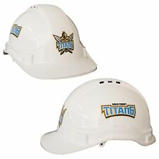 Gold Coast Titans NRL Light Weight Vented Safety Hard Hat Work Man Cave Gift