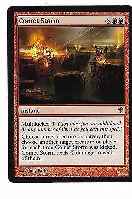 Red Prerelease Mtg Magic Rare 4x x4 4 PROMO FOIL Comet Storm