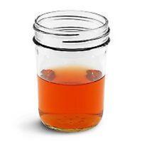 8 Oz Smooth Glass Jelly Jar W/lid -12 Sets (includes Metal Lid)