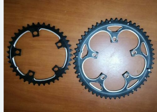 Dual Disc Double Chainring BCD110 53T 39T for Road Bicycle Folding Bike 5 to 9 s