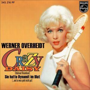 7-034-WERNER-VON-OVERHEIDT-Crazy-Daisy-JIM-REEVES-Railroad-Steamboat-PHILIPS-1961