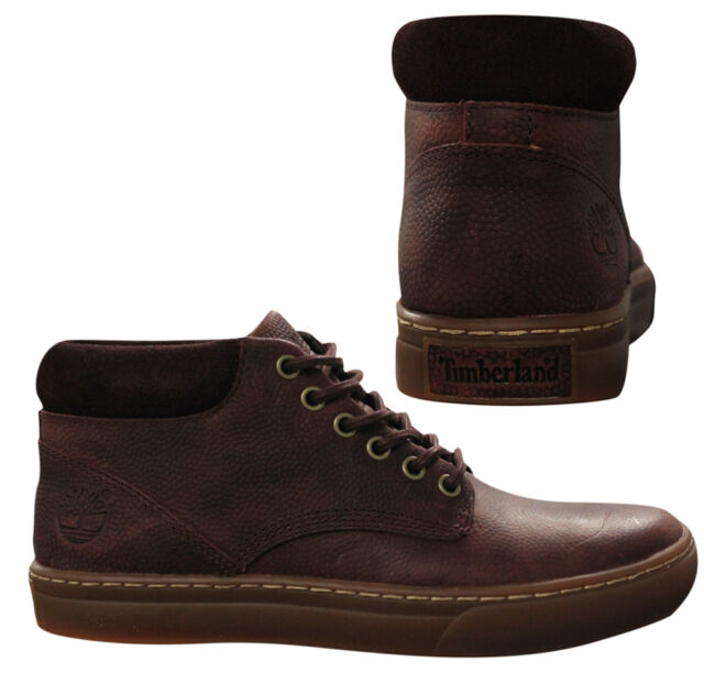 Timberland Adventure 2.0 Cupsole Chukka Mens Leather Brown Boots A1IYC WH
