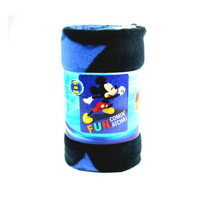 "Mickey Mouse Unstoppable Fleece Throw Blanket 45/""x60/"""