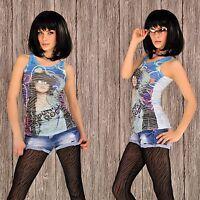 Träger Top Shirt Designer Fashion Top Top 5 Farben