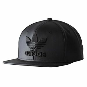 a0f797fdccb Image is loading adidas-Men-039-s-Originals-Snapback-Flatbrim-Cap