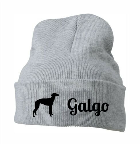 Beanie Bonnet Casquette Stick Motif Galgo chiens siviwonder