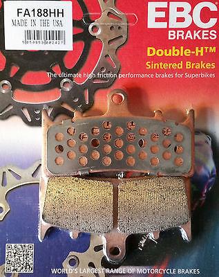 GoldFren front brake caliper pads Kawasaki ZX-9R ZX9 ZX 9 E1 E2 00 01 EBC FA188