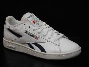 Détails sur Reebok Npc UK Tx Hommes Baskets Taille 6 Blanc
