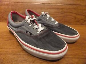 Vans Authentic Two Tone Grey Canvas Casual Trainers Size UK 5 EUR 38