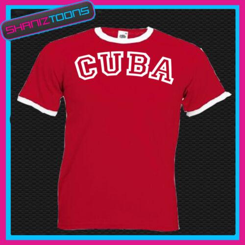 CUBA RINGER RETRO FUNNY TSHIRT