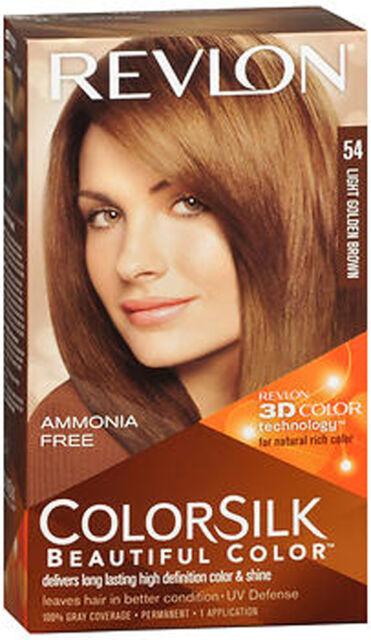 Revlon Colorsilk With Technology 5g Light Golden Brown Hair Color
