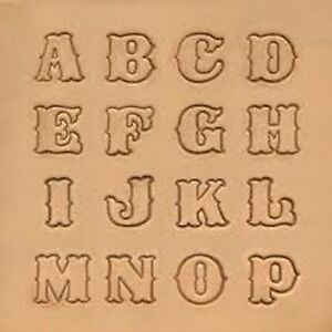 Image Is Loading Craftool Standard Alphabet Stamp Set 8131 00 By