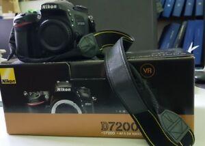 Nikon D7200 Only Body