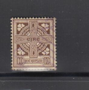 Ireland-1922-23-10-d-cross-Sc-75-fine-used