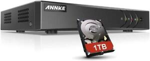 New ANNKE 8-Channel 5MP Lite Security Video DVR Recorder 5-in-1 H.265+ Hybrid DVR with 1TB Hard Drive, Supp(10960381)... Mississauga / Peel Region Toronto (GTA) Preview