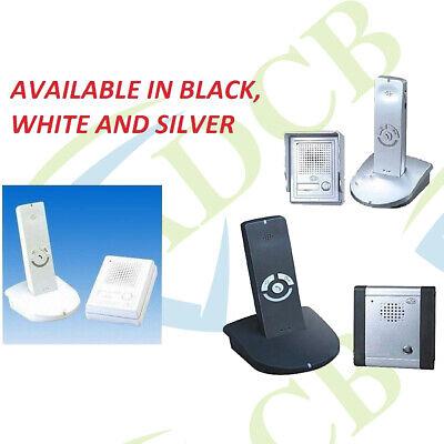 B8A WEATHERPROOF WIRELESS PORTABLE DOORPHONE ACCES ENTRY CONTROL INTERCOM SYSTEM