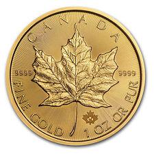 2015 Canada 1 oz Gold Maple Leaf BU - SKU #84889