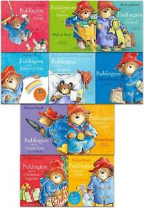 Paddington-Bear-10-Picture-Books-Collection-Pack-Set-in-a-Bag-by-Micheal-Bond