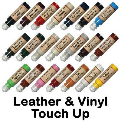 Leather & Vinyl Touch Up Scratch Repair Pen. All Colours & Custom / Paint Dye.