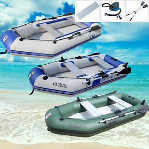 2 4 person inflatable raft fishing dinghy boat sun shelter for 4 person fishing boat