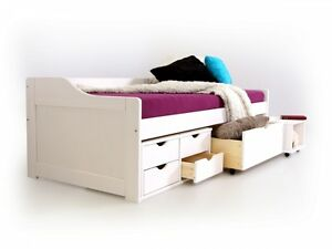 maxima kinderbett massivholzbett jugendbett g stebett. Black Bedroom Furniture Sets. Home Design Ideas