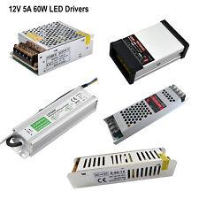 Led Driver Ac Dc 12v 5a 60w Led Driver Power Supply Transformer For Led Strips