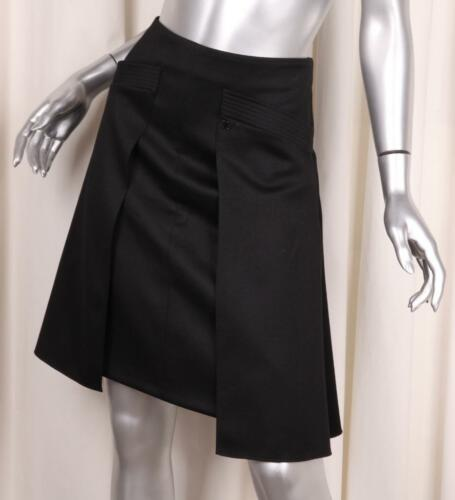 Chanel 06 A Classic Womens Wool Pleated A Line Knee Length Skirt 36/4 S by Chanel