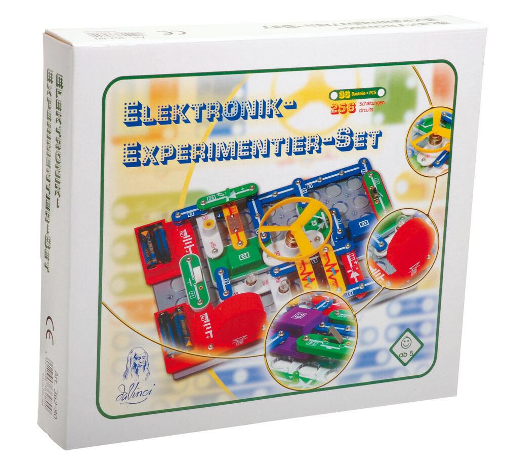 Kinder Elektronik Experimentier - Set Elektrobaukasten Bausatz DaVinci (362-80)  | Produktqualität