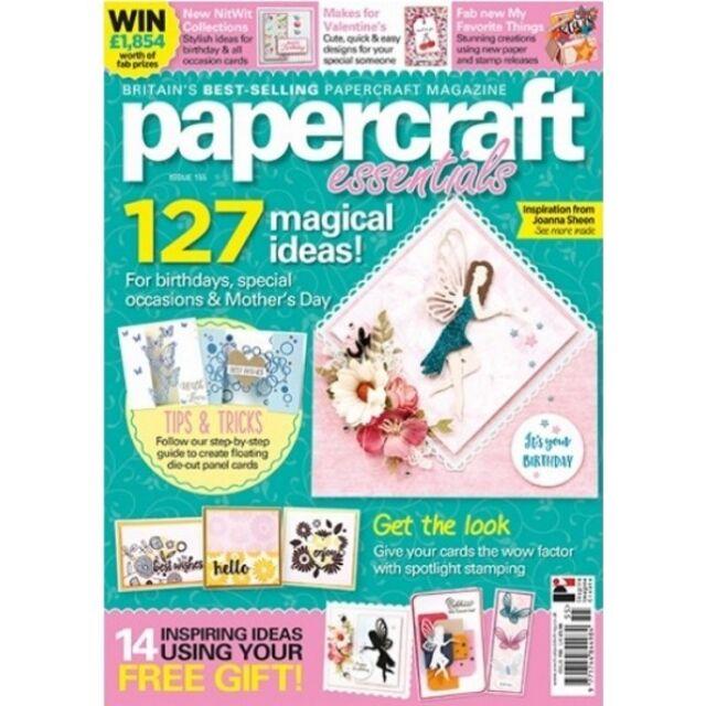 Papercraft Essentials Magazine Issue 153 Ebay