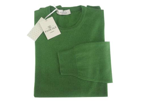Girocollo Verde Uomo In 70 Cashmere Made Maglia 30 Panicale Lana Italy qE7Utfx