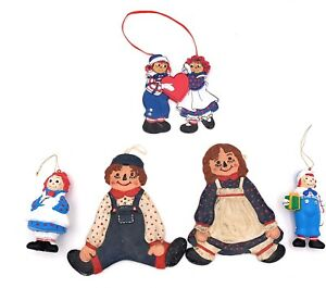 Raggedy-Ann-and-Andy-Christmas-Ornaments