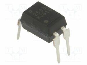 Transistor UIsol 35V LTV-817M Optokopp 5kV THT  Uce Optokoppler Kanäle 1 Aus