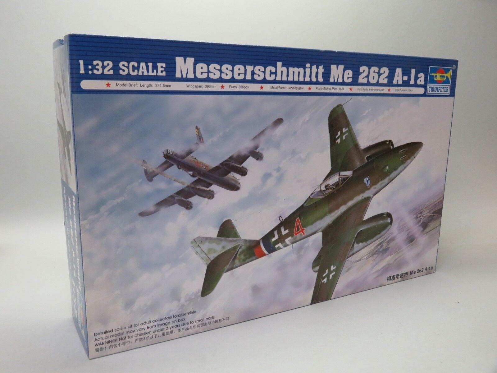 Trumpeter 02235 1 32 Messerschmitt Me 262A-1a