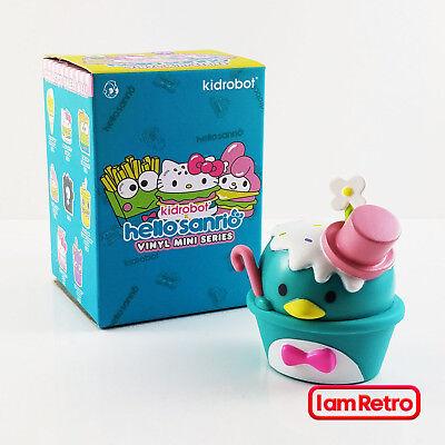 "Hello Sanrio Mini Series 3/"" Vinyl Figure by Kidrobot TuxedoSam Ice Cream"