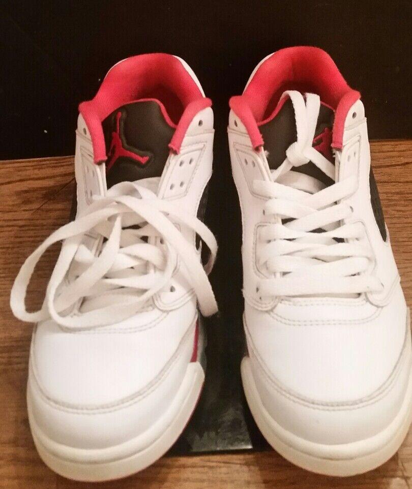 """Nike Air Jordan Retro V 5 LOW """"Fire Red"""" 819171 101 Comfortable Cheap women's shoes women's shoes"""