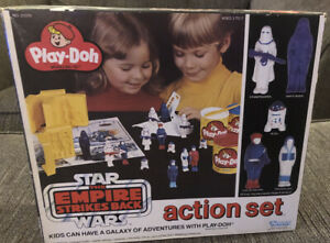 VIntage-MISB-Star-Wars-Empire-Strikes-back-Play-doh-action-set-Kenner-Rare-21570