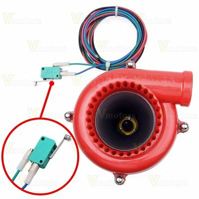 Universal Car Fake Electronic Turbo Blowoff Blow Off Valve BOV Analog Sound US