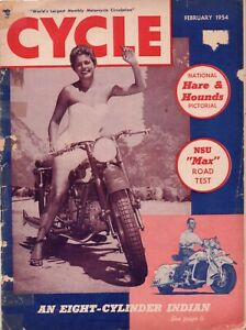 Cycle-World-039-s-Largest-Monthly-Motorcycle-Circulation-February-1954-Magazine