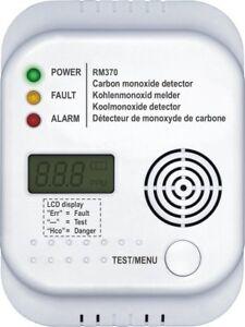 Smartwares RM370 CARBON MONOXIDE ALARM CO detector
