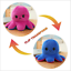 Double-Sided Flip Reversible Octopus Plush Toy Squid Stuffed Doll Toys Gifts
