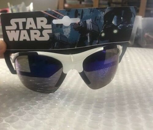 DISNEY Star Wars Sunglasses Black White 100/% UV Protection Storm Trooper wrap 03