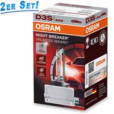 Osram D3S 35W Night Breaker UNLIMITED Xenarc +70% mehr Licht 2St. 66340XNB DUO