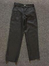 Men's AJ Armani Jeans Linen Trousers Chinos Size  Waist 34 Leg 34