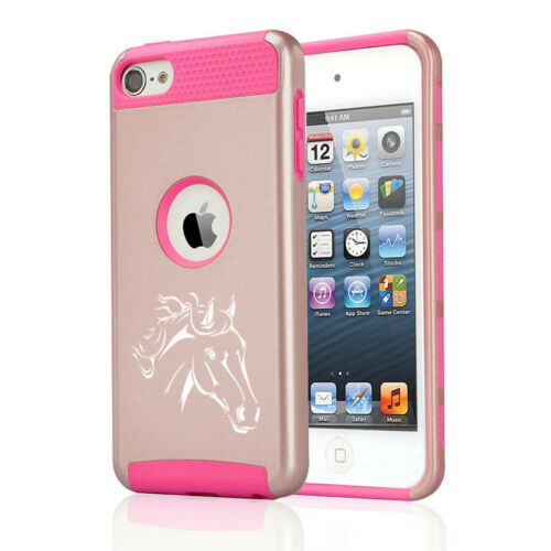 For Apple iPod Touch 5th 6th Shockproof Hard Case Cover Horse Head