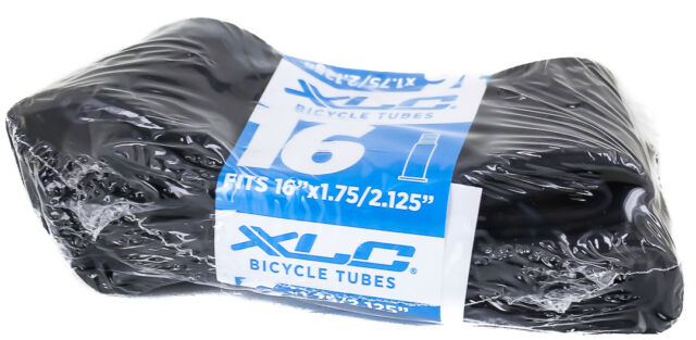 "2 QTY XLC 16x1.75//2.125/"" 35mm Schrader Valve Thorn Resistant Wrap Bike Tubes NEW"