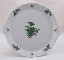 Villeroy & and Boch- Heinreich- GREEN ROSE Cake tray / plate NEW 29.5CM