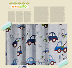 QUALITY BLOCKOUT EYELET CURTAINS CAR AUTO TRUCK BUS BOY KIDS ROOM CURTAIN
