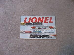 Image Is Loading 1953 LIONEL TRAIN CONSUMER CATALOG NEAR MINT CONDITION