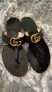 Gucci Sandals Thong Size 38   eBay