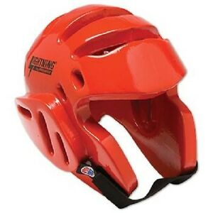 Karate Sparring Headgear - Red